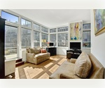 Upper West Side Luxury Condominium, Magnificent Alcove Studio with an Extra Large Outdoor Space, 10 West End Avenue, Residence 3J, One of a Kind!