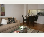 Beautiful 2 Bedrooms, 2 Marble Bathrooms, in Midtown East, Granite Counter tops, ALL White Appliances with Dishwasher, Hardwood Floors, 24 Hr Doorman, Full Service Building