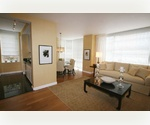 Large 2 Bedrooms 2 Baths in Midtown West, Seperate Dining Room with Floor to Ceiling Windows, Full Size Washer/Dryer.