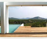 Beautiful contemporary Ibiza property for sale with stunning sea views to Porroig and Formentera.