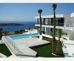 Luxury Ibiza villa for sale in the San Jose area. This exceptional modern Ibiza house to buy has a huge constructed area. Incredible sea views. Secure area.